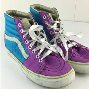 Vans SK8 purple teal sz 7